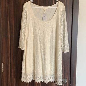 Lace dress. Never worn. Price tag attached.